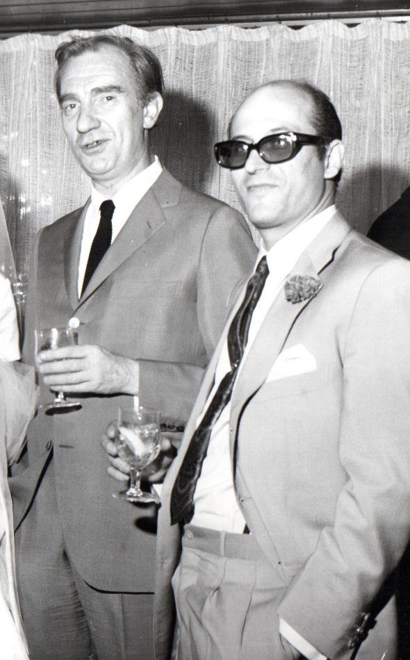 Fernando Fernán Gómez y Agustín González
