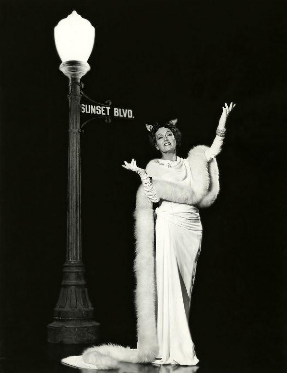 Gloria Swanson en El Crepúsculo de los Dioses