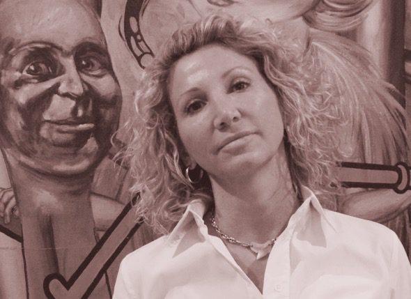 Lola Vivas profesora del mes de la Escuela de escritores