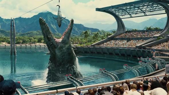 Un fotograma de la película 'Jurassic World'.