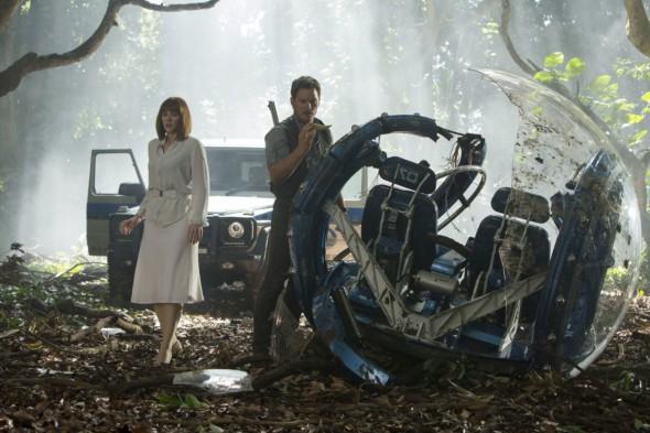 Fotograma de la película Jurassic World.