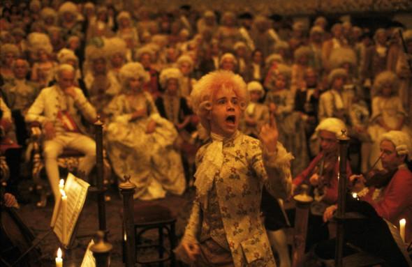 Un fotograma de la película 'Amadeus' de Milos Forman.