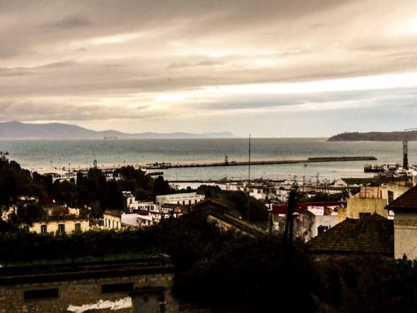 Estrecho de Gibraltar desde la Terraza de los Perezosos, Tánger @ Javier Valenzuela