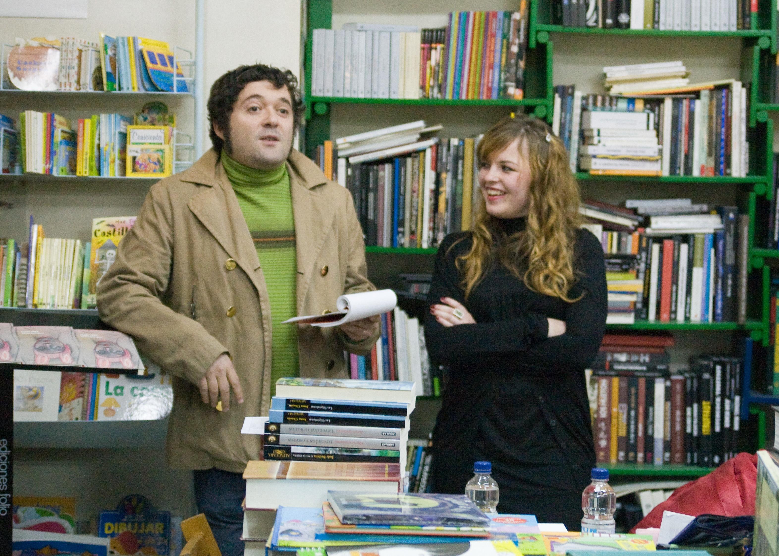 Sergio Algora y Aloma Rodríguez