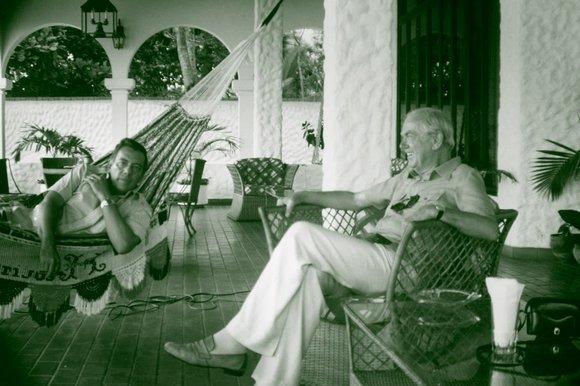 Omar Torrijos y Graham Greene