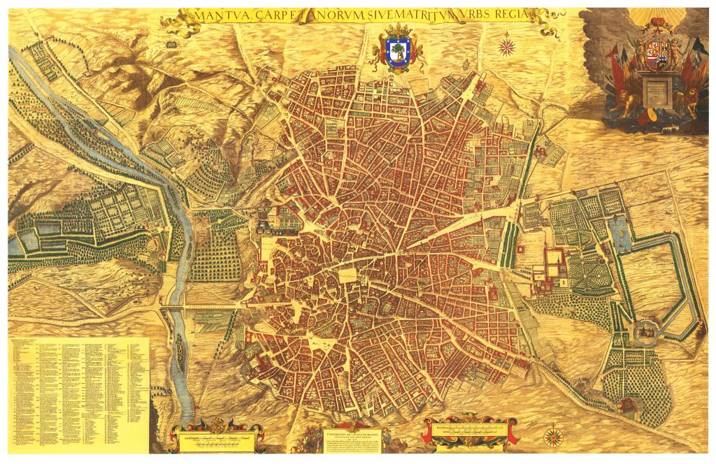Plano de Madrid de Pedro Teixeira (1656)