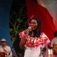Ceferina Banquez, una de las seleccionadas para el festival.