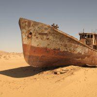Boot uit Kazachstan