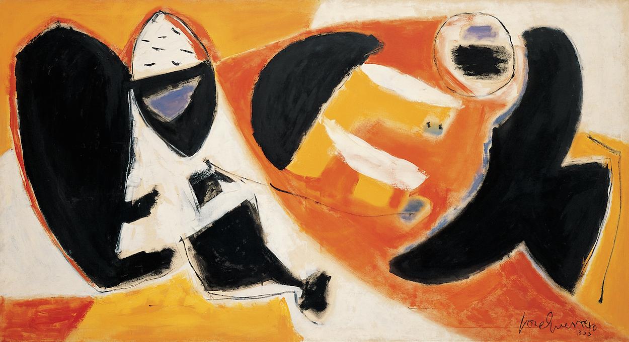Los cuadros de jos guerrero que empezaron a gritar - Trabajos de pintor en madrid ...