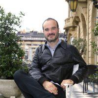 El cineasta Oskar Alegría. Foto: Festival de Cine de San Sebastián.