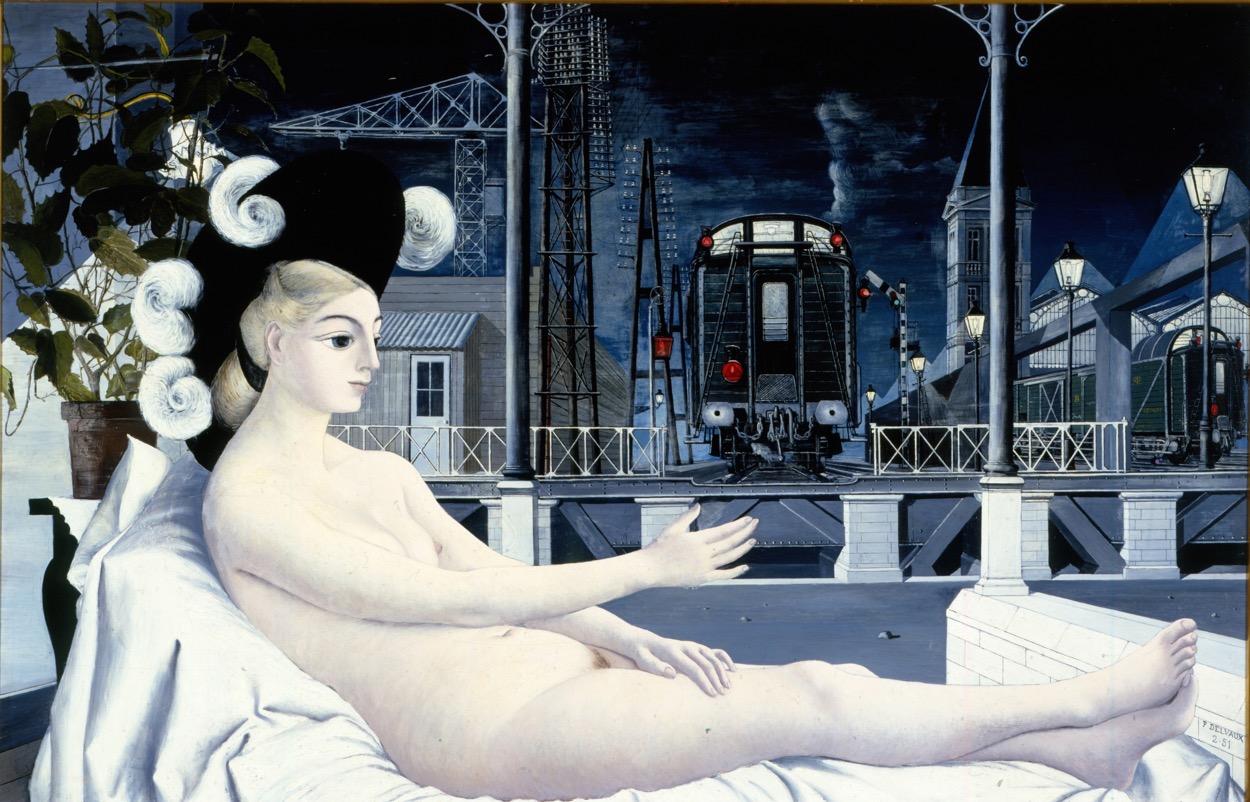 Pintura: Paul Delvaux