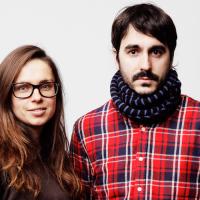 Los artistas Varvara Guljajeva y Mar Canet.