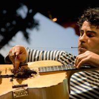 El maestro Paolo Angeli. Foto: Nanni Angeli.