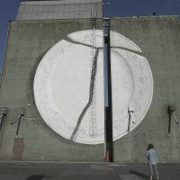 Intervención del artista valenciano Escif.