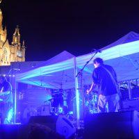 Yo La Tengo durante su actuación en el Tibidabo Festival el pasado viernes.