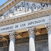 Congreso de los Diputados. Foto:  Subtle Panda / Flickr Creative Commons.