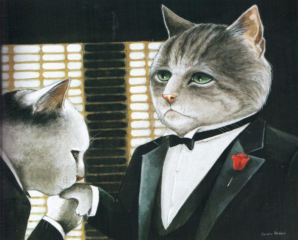 Gatos de película.