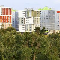 En los nuevos barrios, naturaleza y urbanismo se fusionan en armonía. Foto: VGreencapital2012