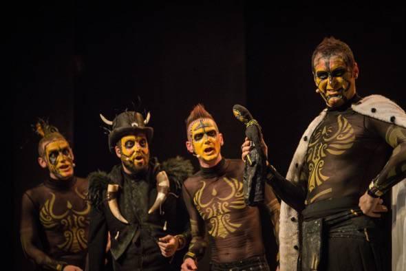 The Prímitals en el Teatro Alfíl de Madrid