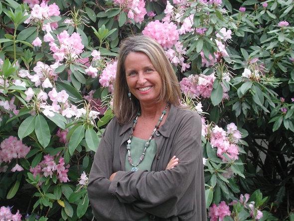 La activista mediombiental May East. Foto: Gaia education.
