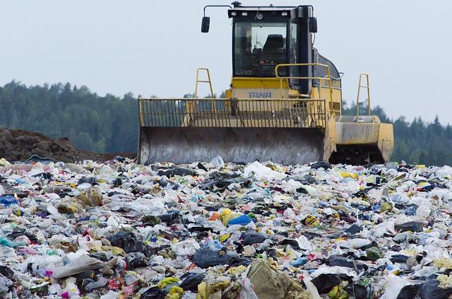 Un vertedero de basura. Foto: Pixabay.