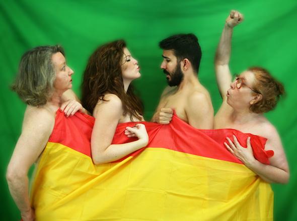 Una imagen de la obra 'Orgullo nacional'.