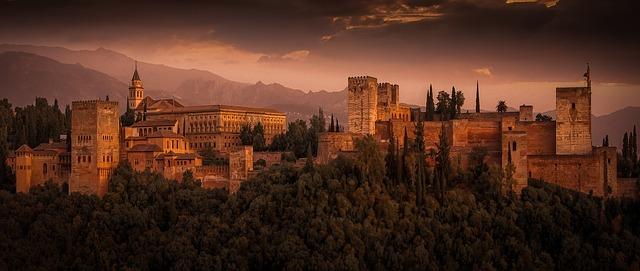 La Alhambra de Granada. Foto: Pixabay.