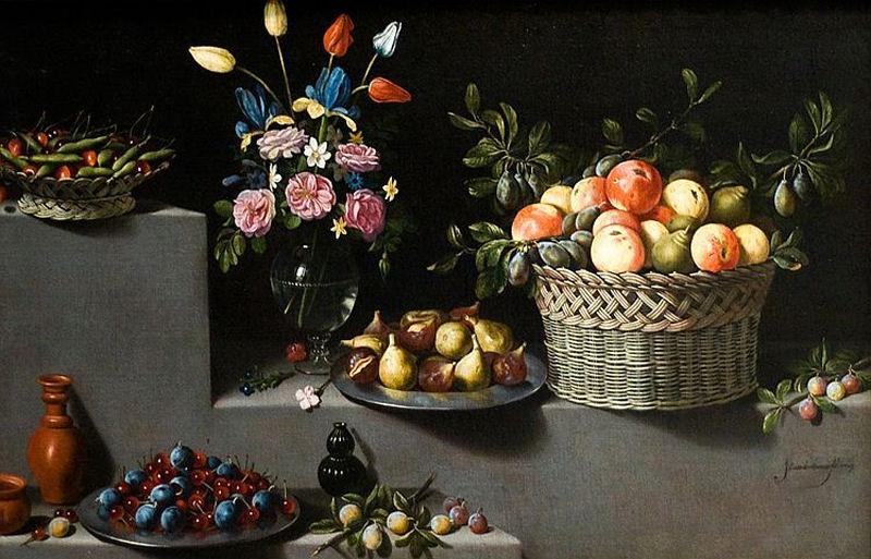 Bodegón del pintor Juan van der Hamen.