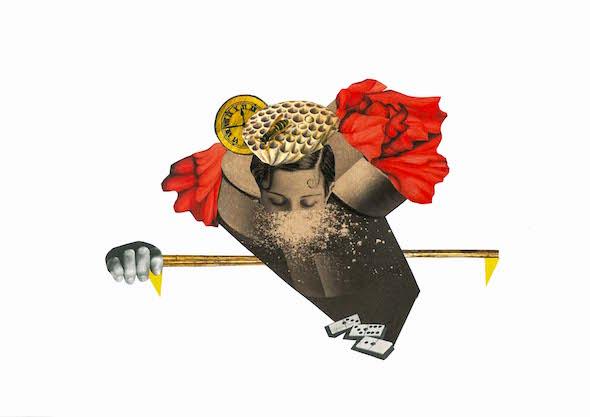 Collage Liliana Peligro.