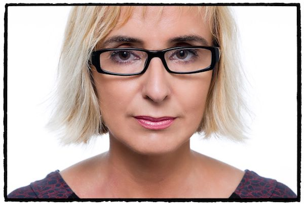 La escritora Patricia Esteban Erlés. Fotografía: Daniel Mordzinski.