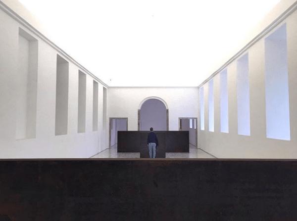 Las esculturas de Richard Serra en el Reina Sofía. Foto: Manuel Cuéllar.