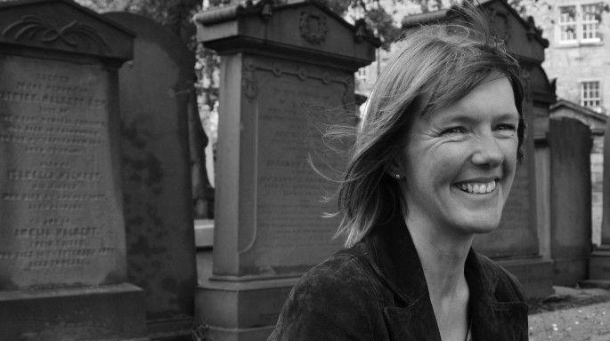 La escritora Kathleen Jamie. Foto: Jemimah Kufield.