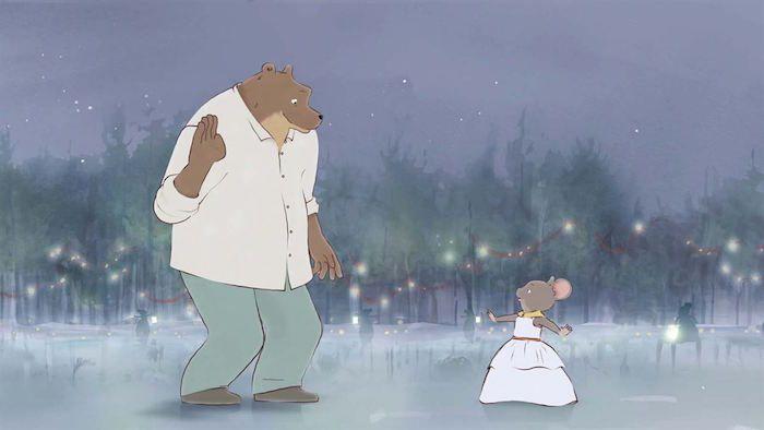 Un fotograma de la película 'Ernest y Celestine'.