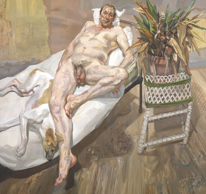 Lucian Freud. 'David and Eli'. © Tate, Londres 2017 © The Lucian Freud Archive/Bridgeman Images.