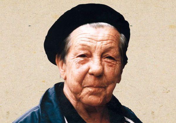 Casilda Hernáez Vargas, miliciana.