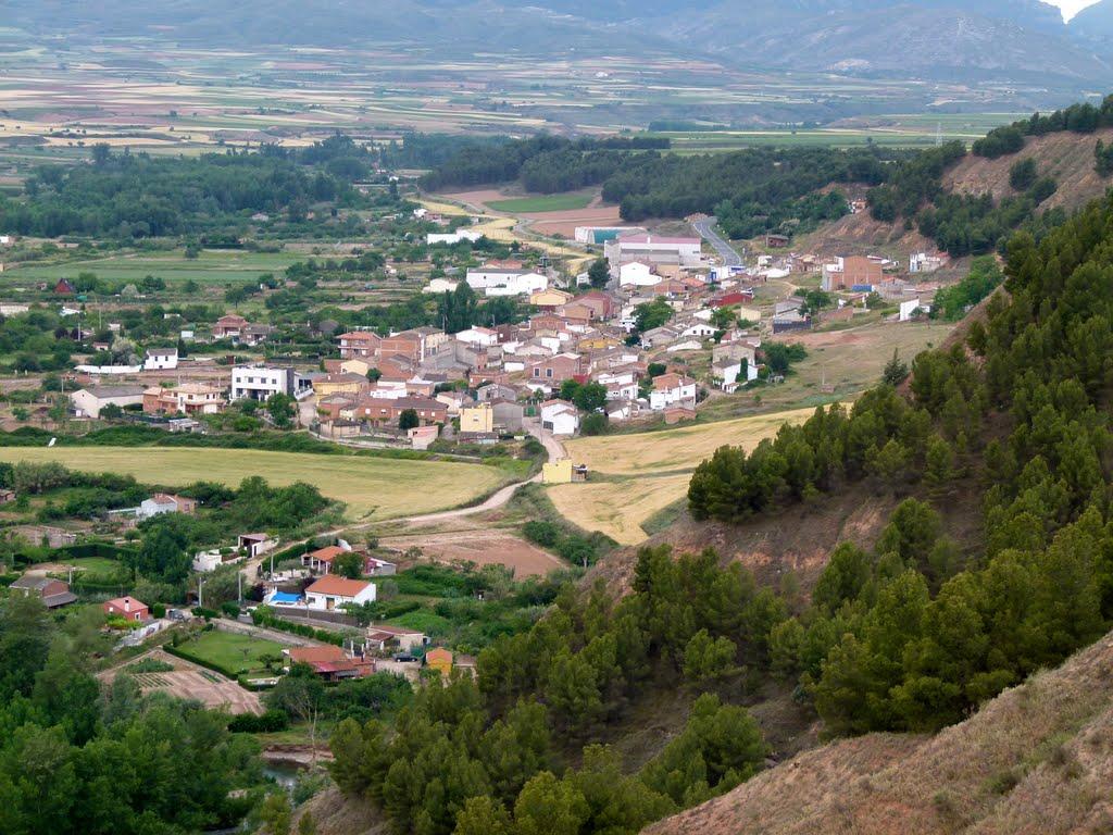 El pueblo de Murillo de Lezo en La Rioja.