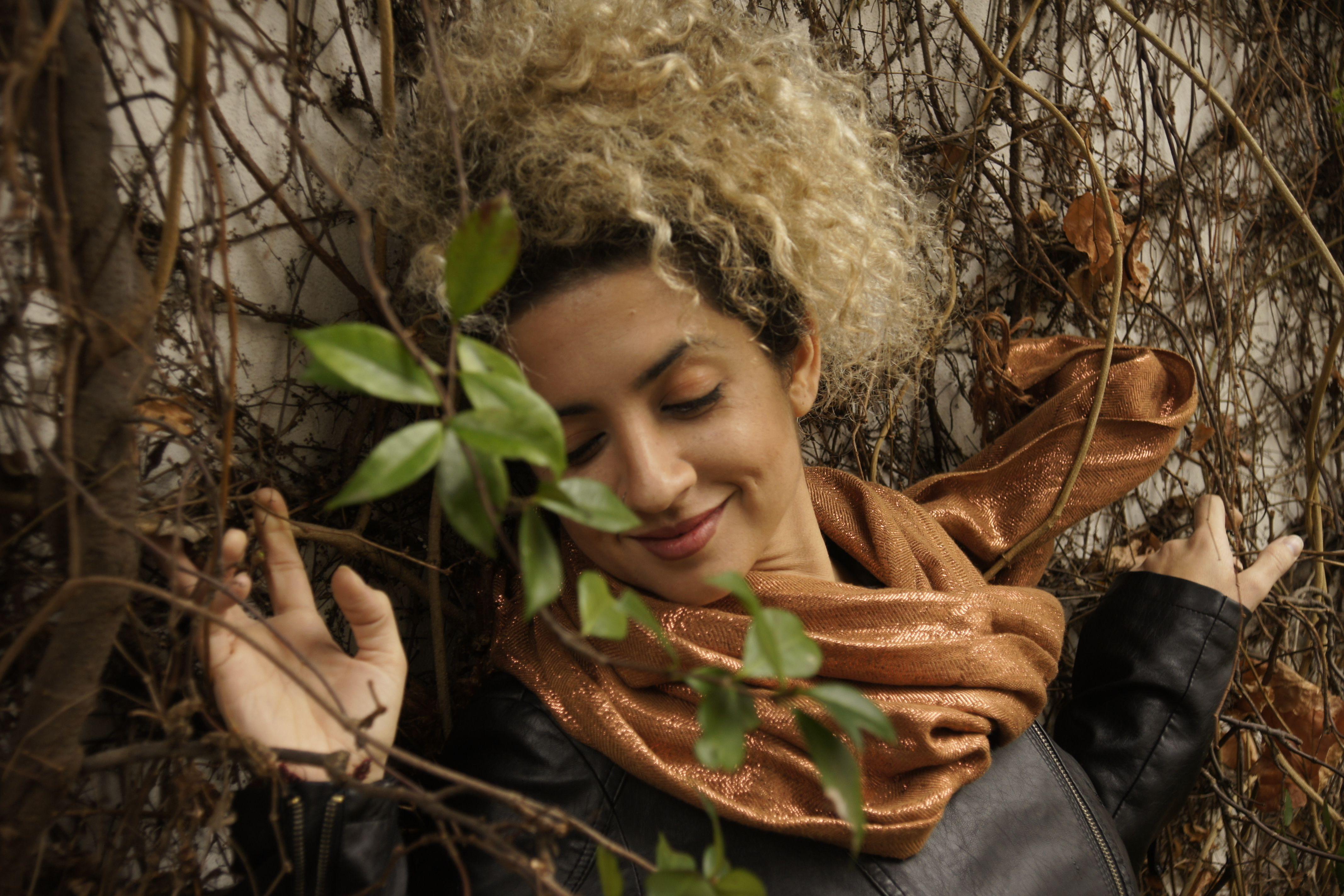La cantante y compositora Micaela Farías Gómez.