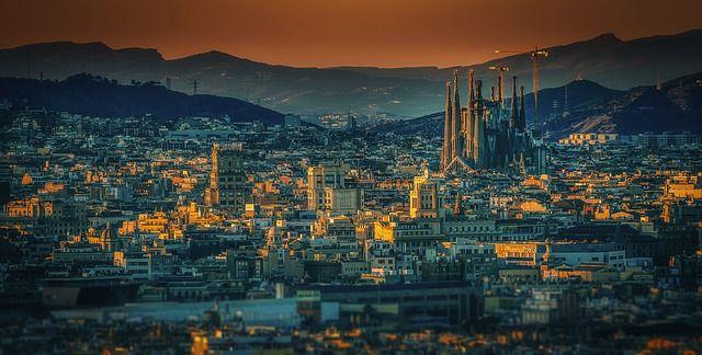 Una panorámica de Barcelona. Foto: Pixabay.
