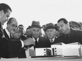 Franco visita Granada tras las inundaciones de febrero de 1963
